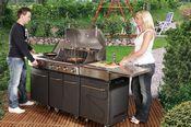 Santos Sydney Außenküche - für perfekten Kochgenuss
