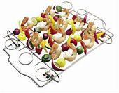 Grillspieße schnell und einfach zubereiten dank Schaschlik-Set von Weber