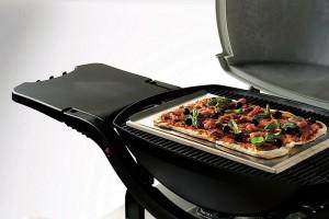 Backen mit dem Pizzastein - Leckeres vom Grill