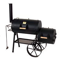 "Grillen und Backen mit dem Joe's Barbeque Smoker 16"" Tradition"