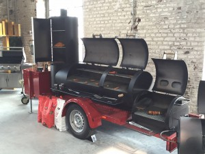 "Joe's Barbeque 24"" Extended Catering Smoker Trailer"