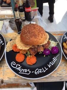 Kichererbsen Burger – es muss doch nicht immer Fleisch sein