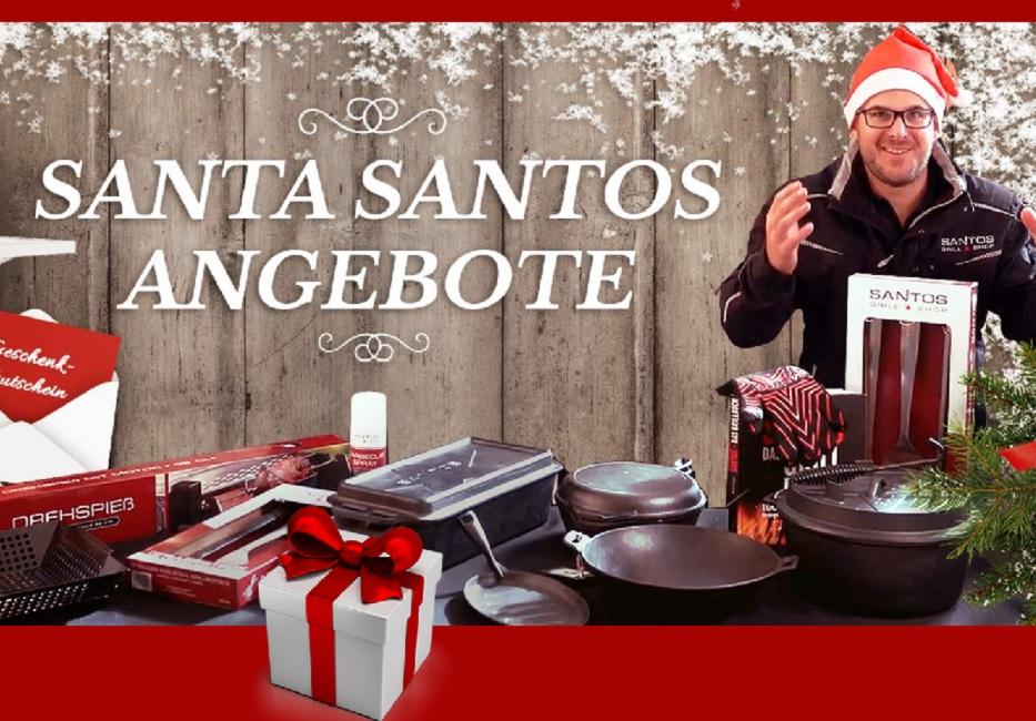 Die Aktion zum 1. Advent – Santa Santos Überraschungen