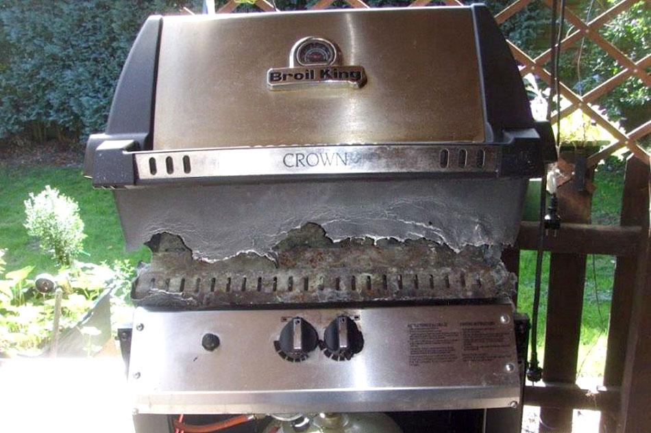 Outdoorküche Gasgrill Reinigen : Gasgrills grillzubehör grillkurse bei santos grills shop
