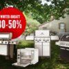 Bis zu 50% Rabatt auf zusätzliche Aussteller Grills & bis zu 60% auf Gebrauchte….
