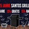 Jetzt 15% des Grillpreises als SANTOS Zubehör gratis beim Grillkauf sichern – oder 15% auf jedes SANTOS Zubehör (ohne Grillkauf)