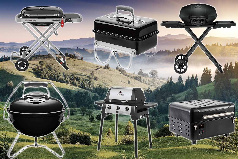 Campinggrills 2021- perfekte Grills für's Camping
