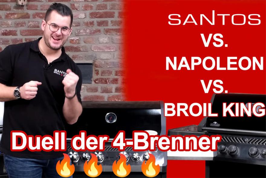 Grillvergleich 4-Brenner
