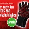 AKTION Gratis SANTOS BBQ Handschuh
