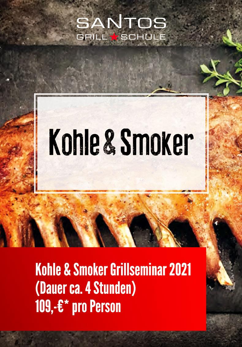 Grillseminar Holzkohle & Smoker 2021