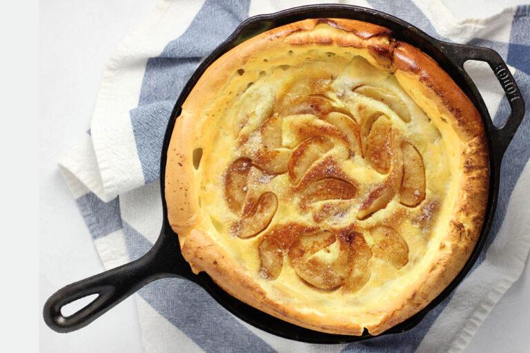 Apfel-Pfannkuchen – Grundrezept für süße und herzhafte Pfannkuchen