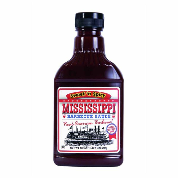 Mississippi BBQ Sauce Sweetn Spicy 510g