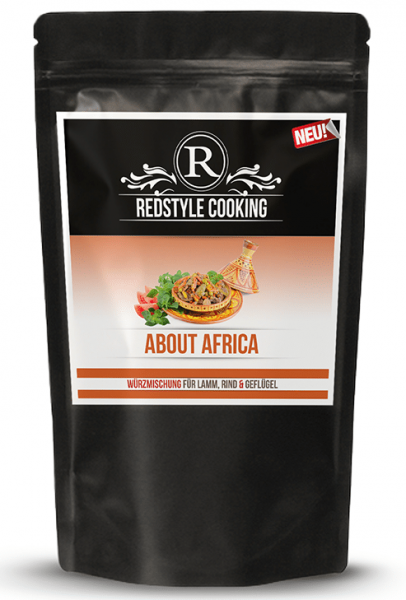 Redstyle-Cooking About Africa 250g