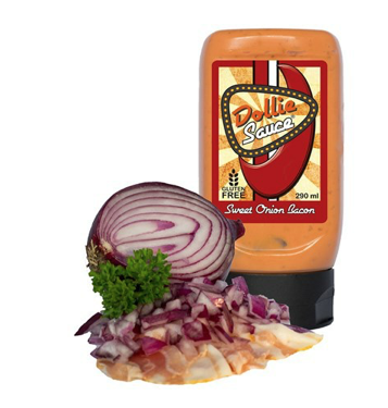 Dollie Sauce Sweet Onion Bacon Flasche 290ml