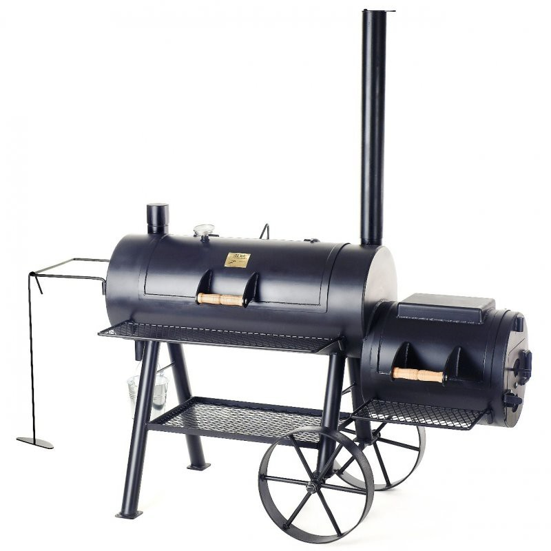Joe's Barbeque Reverse Flow Smoker, 16