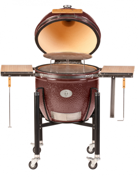 Monolith Grill LeChef Rot mit Gestell
