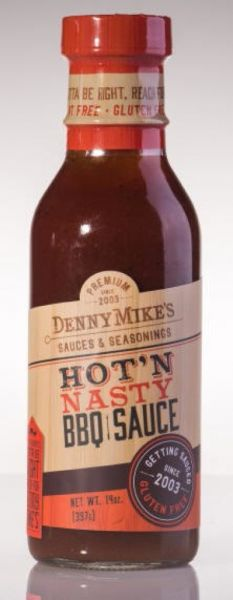 Denny Mike's Hot'n Nasty BBQ Sauce 330ml
