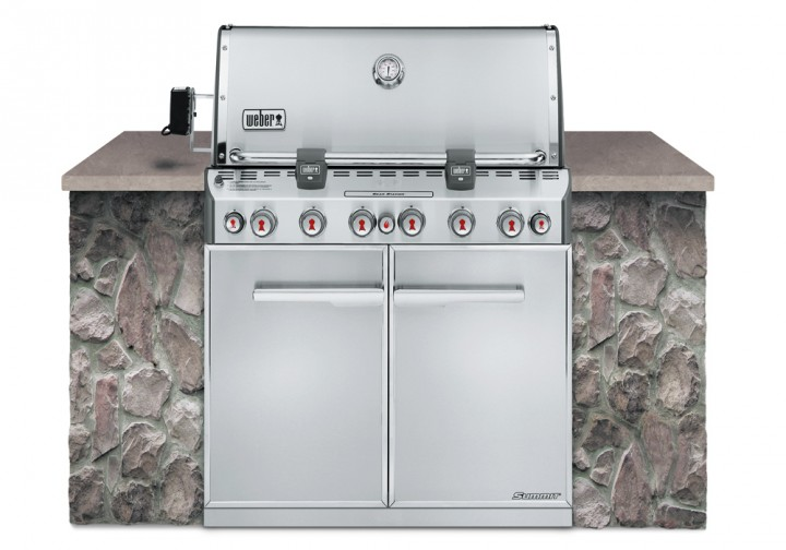 Weber Summit S-660 Einbaugrill