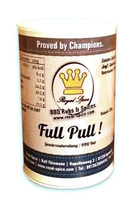 Full Pull! Special Pulled Pork Rub 120g, Gewürzzubereitung