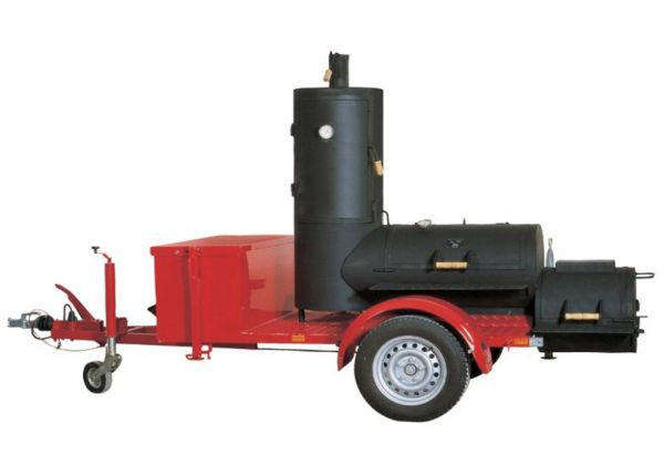 "Joe's Barbeque 20"" Chuckwagon Catering Smoker Trailer"